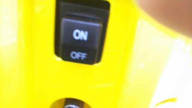 HIDAKA高圧洗浄機スイッチ