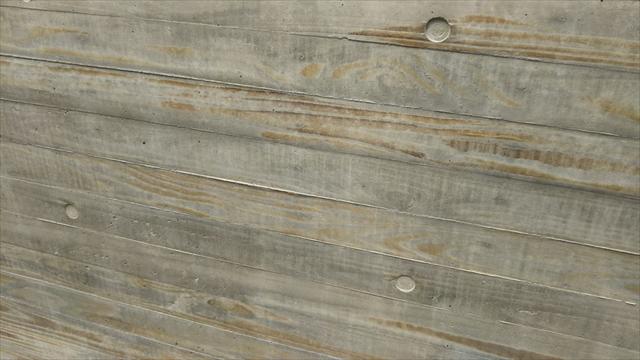 コンクリート打ちっぱなし杉板