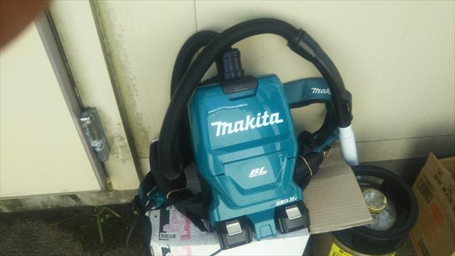 マキタの掃除機