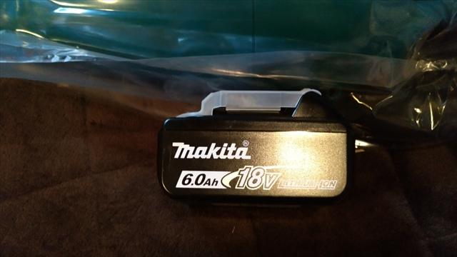 マキタのバッテリー