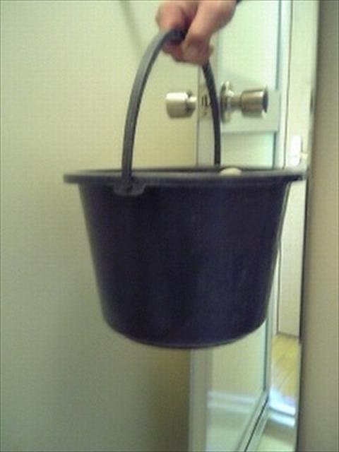 お風呂の鏡掃除完成1