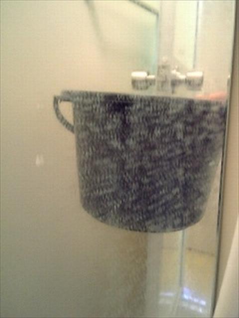 お風呂のガラス現状