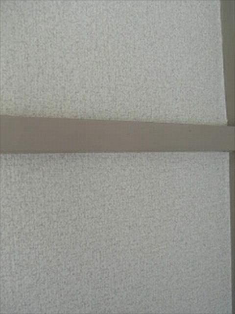 かもいについた両面テープ跡掃除完了