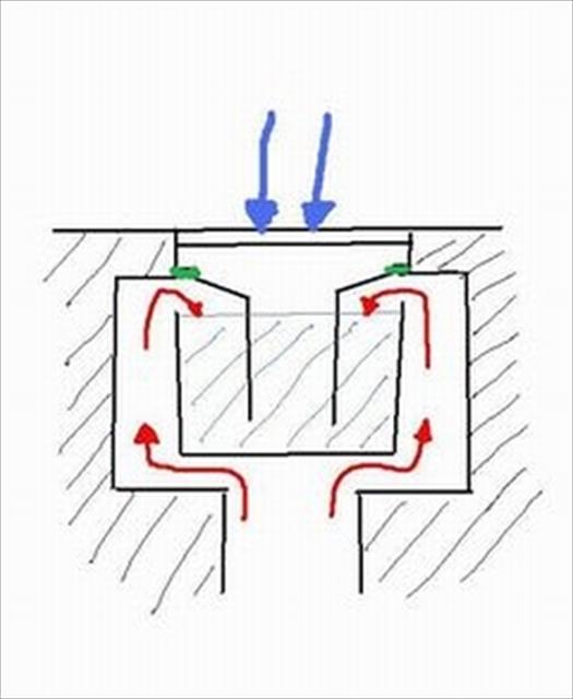 お風呂の排水トラップ